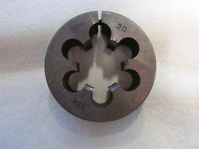"1-3//8-20 UNS Thread Adjustable Round Die 2-1//2/"" Outside Dia High Speed Steel"