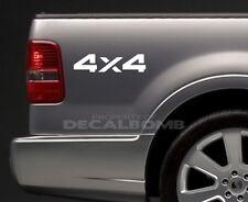 2) 4x4 Bedside Decals Stickers mud turbo diesel utv atv rzr truck Style #5