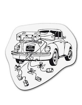 Motivstempel Clear-Stamps Stempel von cArtUs Hochzeitsauto Hochzeitslimousine 79