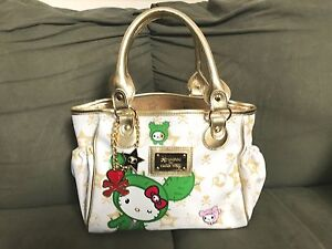 bdca62491ef4 ❤️TOKIDOKI X HELLO KITTY BOSTON SANDY BAG ~ MINI White Handbag ...