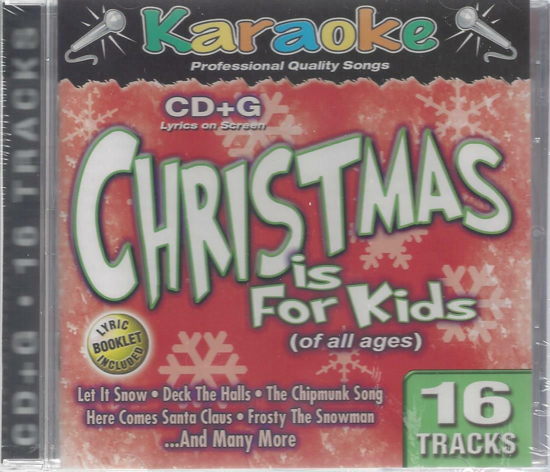 Karaoke Christmas Is for Kids of All Ages 16 Tracks CD