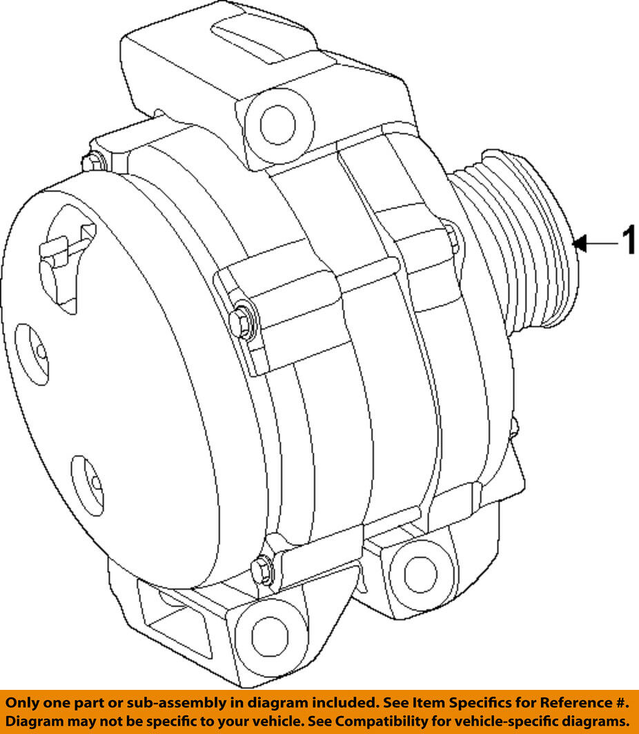 Alternator Mopar 04801778af Reman Ebay Wire Gm Diagrams 10si 12si Wiring 1 Stock Photo