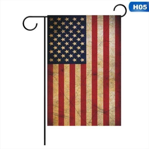 30*45CM Trump 2020 Garden Flag Double Sided America Great Yard Garden Decor Sign
