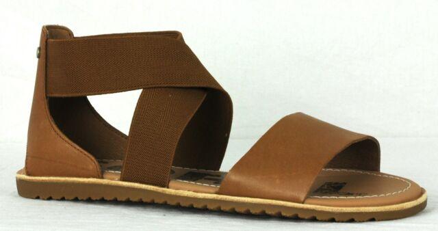 f8f3bc9e067c Sorel Womens Ella Sandals 1787541 Camel Brown Size 8 for sale online ...