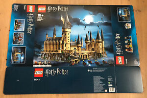 Lego 71043 Harry Potter Schloss Hogwarts Leerkarton/Box/Ovp NEU