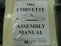 1964 Corvette (all Models) Assembly Manual