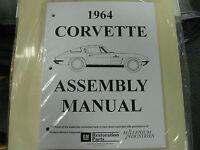 1964 Corvette (all Models) Assembly Manual