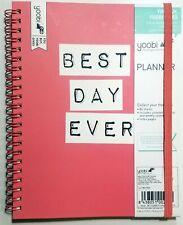 Yoobi Best Day Ever Undated Weekly Monthly Planner 6 14 In X 7 34 In
