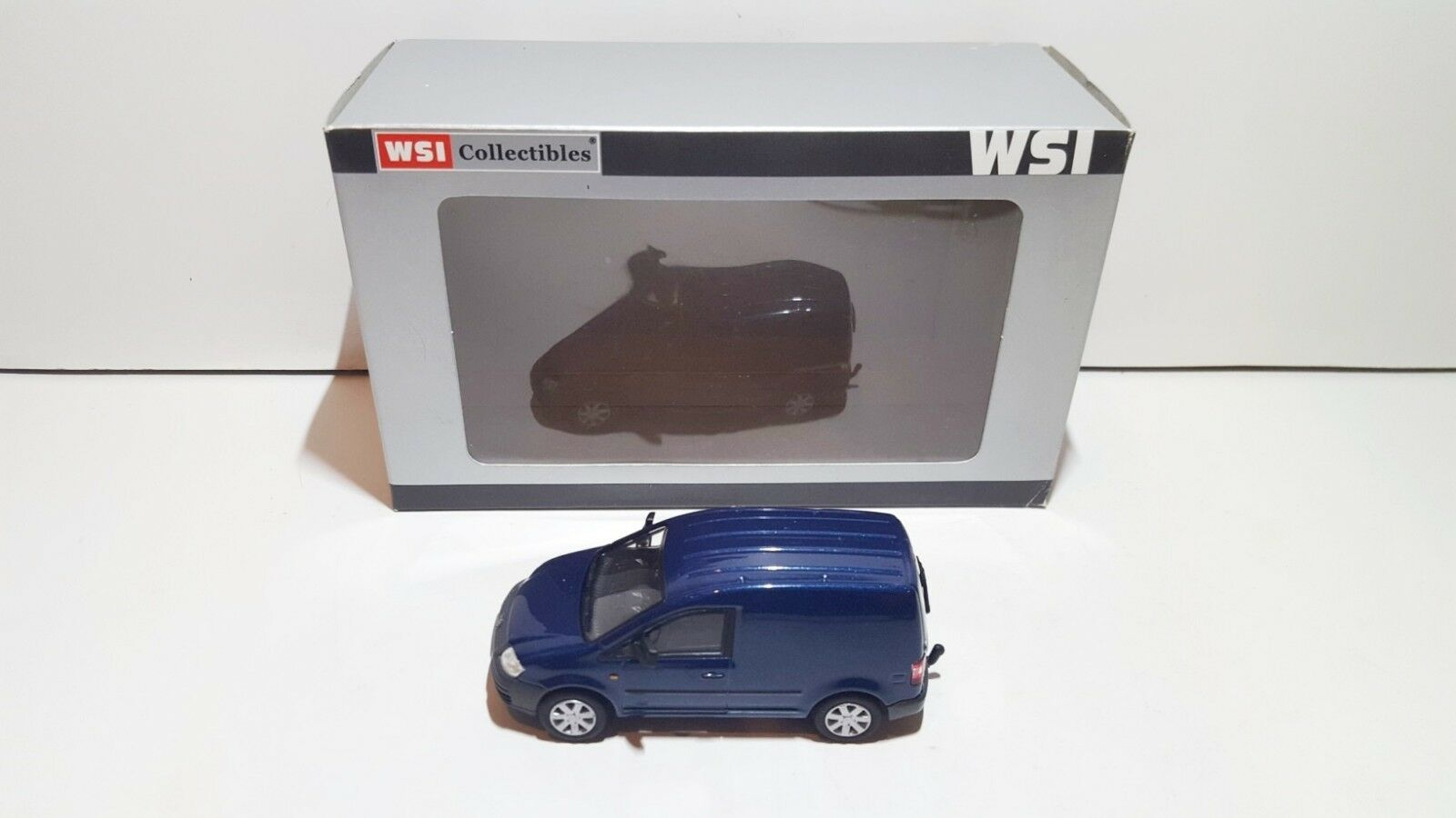 WSI Models PL-VW200-002 VW VW VW Volkswagen CADDY (blueW) blind van OVP MIB 1 50 SUPER 79afcf