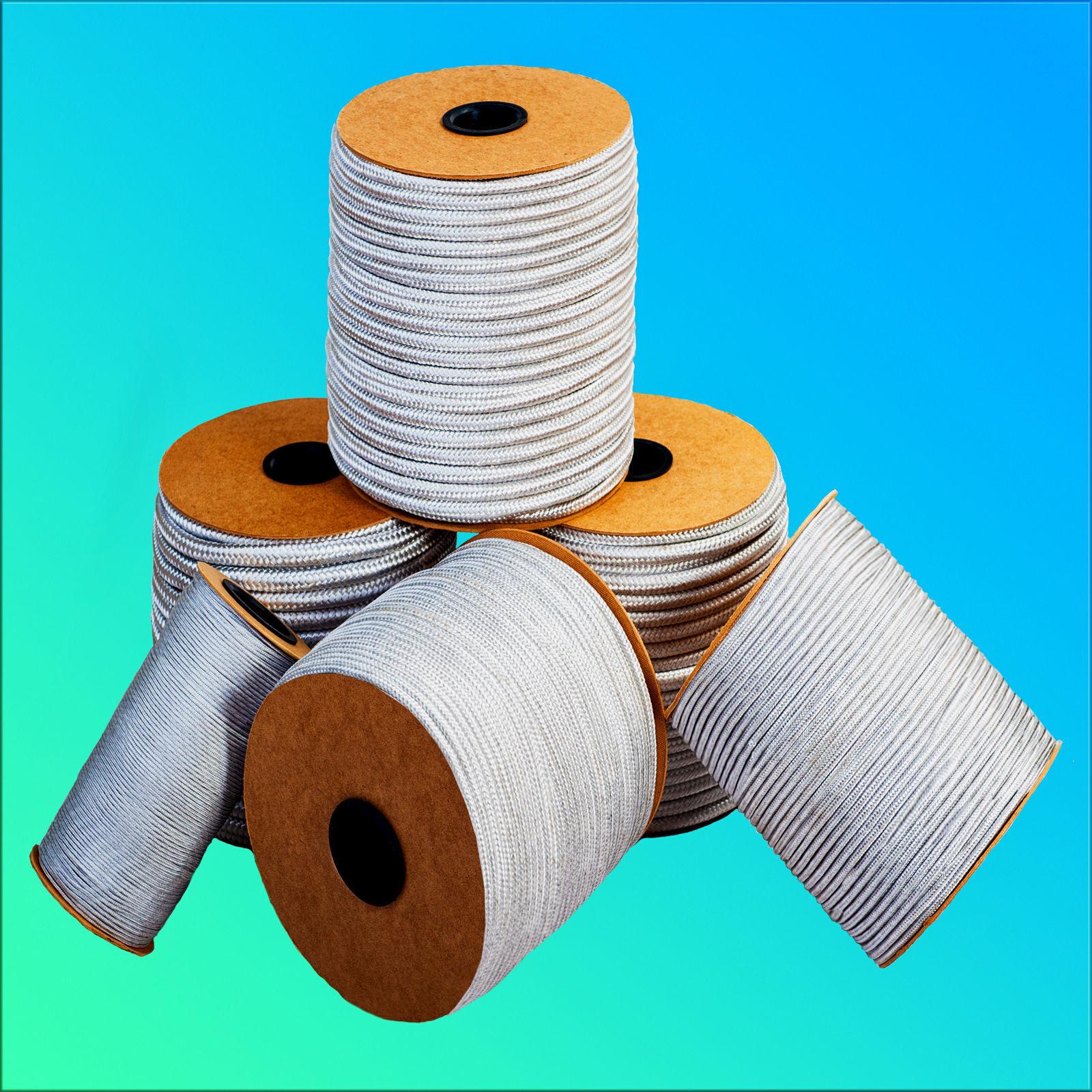 Paracord 12mm 1- /m Polypropylen Seil WEISS Schnur Kunststoff Leine Seil
