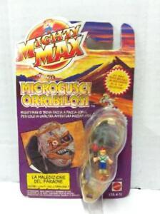 Mattel-Mighty-Max-Microgusci-LA-MALEDIZIONE-DEL-FARAONE-11130-MOC-1992