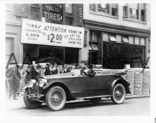 Factory Photo 1924 Packard Model 143 Touring Sedan Ref. #61601 Picture