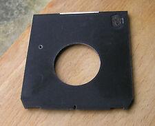 Linhof IV 4 V  45 5x4 Technika Lens board  for compur 1 copal 1 41.7mm low hole