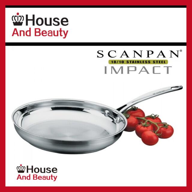 NEW Scanpan Impact S/Steel 26cm Fry Pan ! (RRP $99.95)