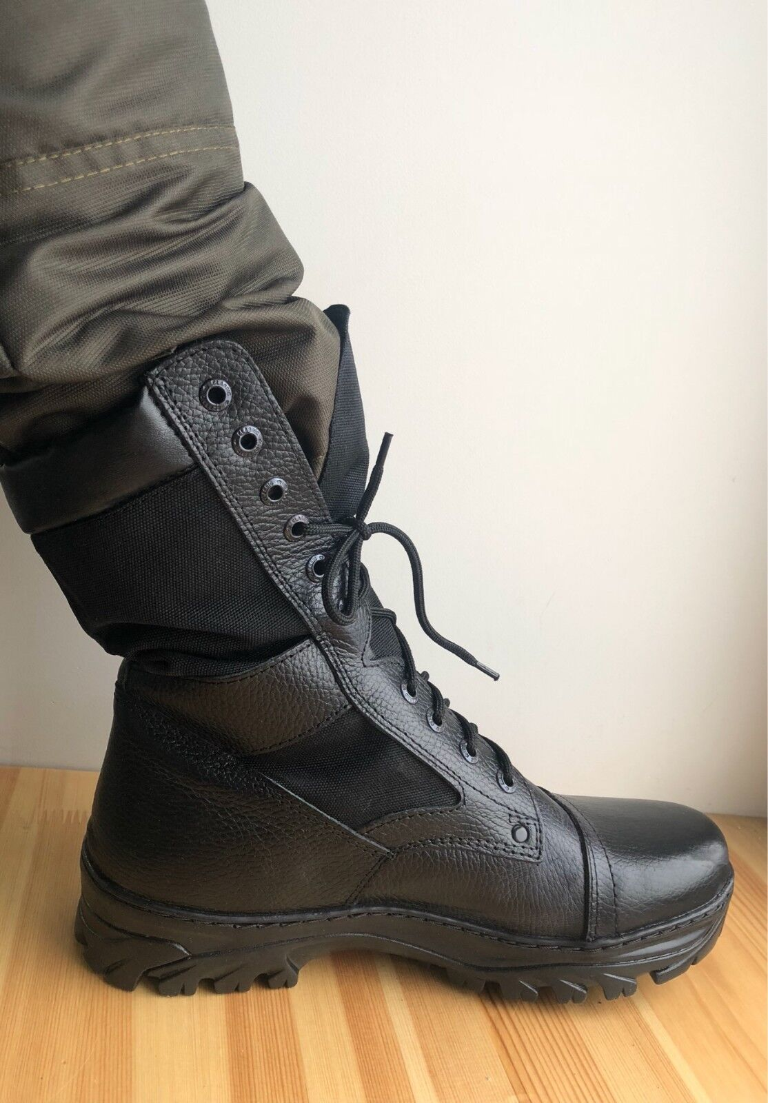 Russian military  genuine leather summer boots NATO CORDURA soldier boots