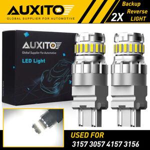 AUXITO 3157 4114 4157 LED DRL Driving Daytime Running Light Bulb White 23SMD EOA