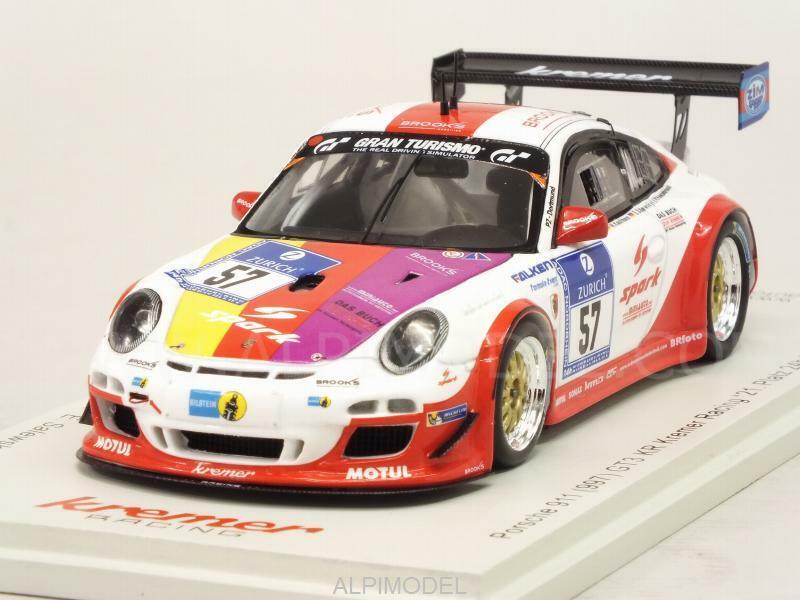 Porsche 911 GT3 KR 997 24h Nurburgring 2016 Baunach - Kauf 1 43 SPARK MAB031