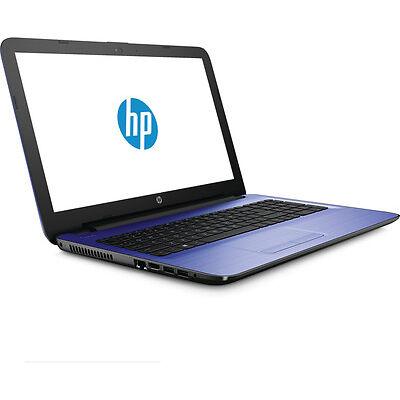 "HP 15-ba080sa 15.6"" Laptop Windows 10 4GB RAM - Blue"