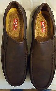 Solo-Men-039-s-Parker-300-Coffee-Size-13-Shoes
