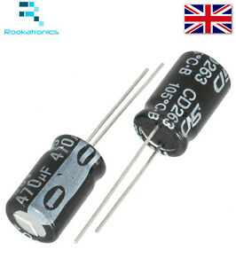 1uF-470uF-Electrolytic-Capacitor-Range-Rated-16-50V-High-Quality-Free-Postage