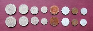 First-Coins-of-Israel-Pruta-Prutah-Set-Lot-of-8-Coins