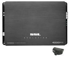 Soundstorm SSL EV4000D 4000W Monoblock Class D Car Audio Amplifier Power Amp