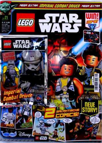 LEGO ® starwars magazine incl accessoires Nº 21//17 mars Limited Edition