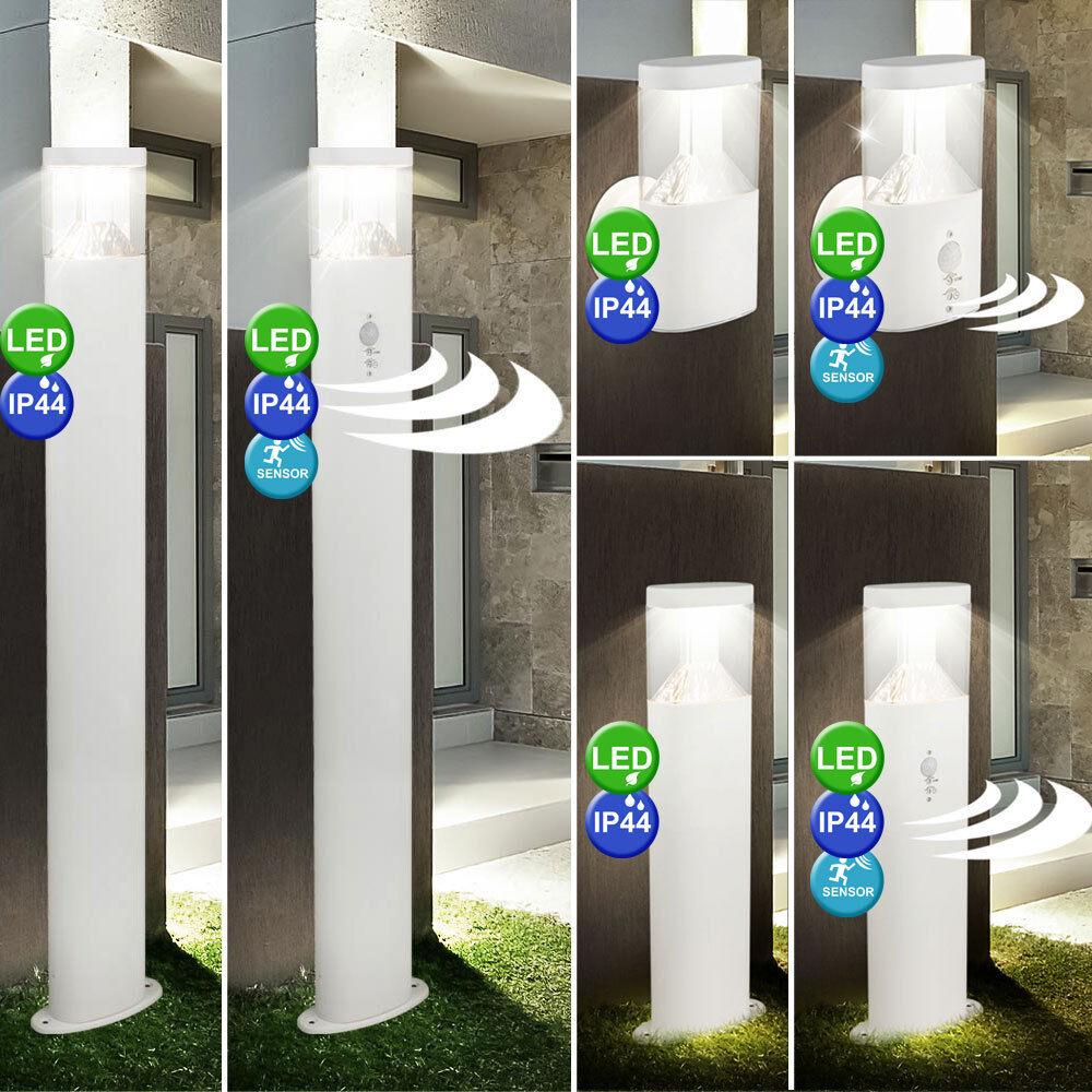 Acero inoxidable al aire libre Luces de la entrada de las lámparas de parojo Casa de garaje sensor de movimiento
