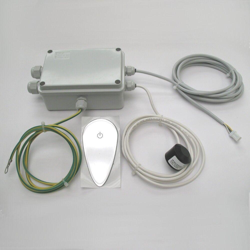 Centralina elettronica per vasca idromassagio + tastiera comandi + sensore