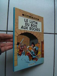 PEYO-JOHAN-ET-PIRLOUIT-LE-LUTIN-DU-BOIS-AU-ROCHES-1967