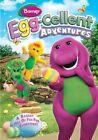 Barney Egg Cellent Adventures 0884487106529 DVD Region 1