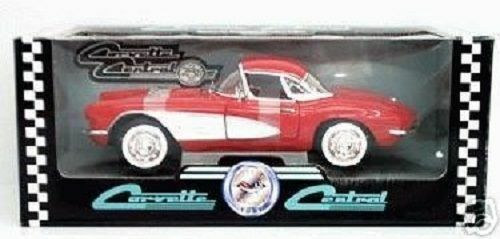 RARE Ertl 1 18 1961 Corvette Red White Cove - Corvette Central - 1 2106