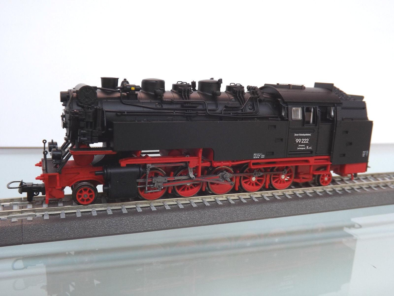 Tillig 02927 - vía Estrecha H0m - Locomotora de Vapor Br 99 222 Der Hsb , Ep.V -