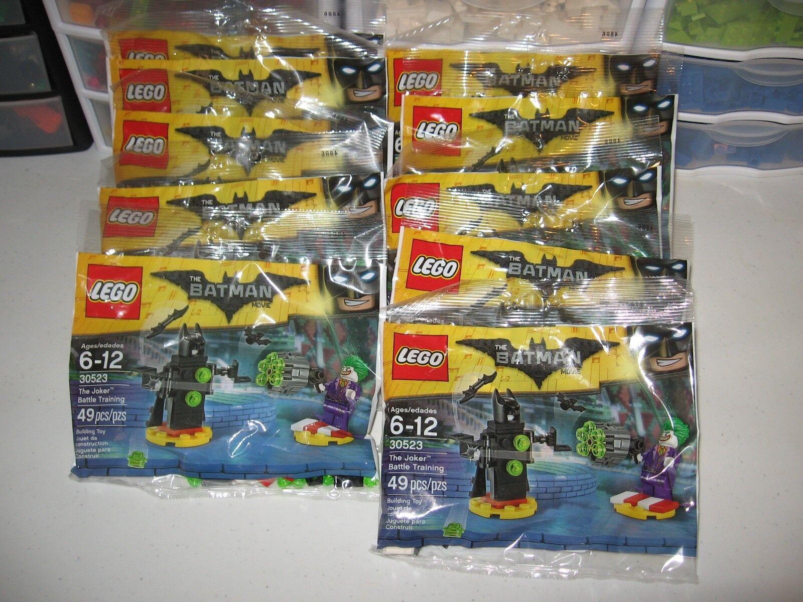 LEGO BOY'S BIRTHDAY PARTY LOT OF 10 THE JOKER battle TRAINING