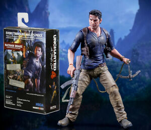 Details About Neca Uncharted 4 Nathan Drake A Thief S End 1 12 Scale 7 Action Figure Model