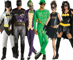 KIDS DELUXE BATMAN COSTUME THE DARK KNIGHT JUSTICE LEAGUE SUPERHERO FANCY DRESS