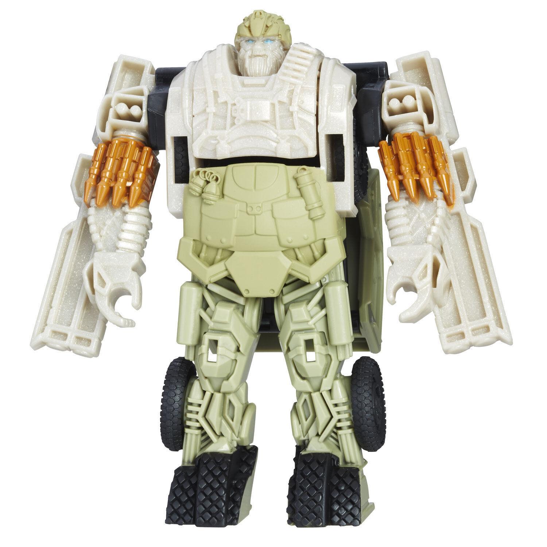 Transformers Le dernier chevalier Autobot Hound étape 1 Turbo Echangeur Figure