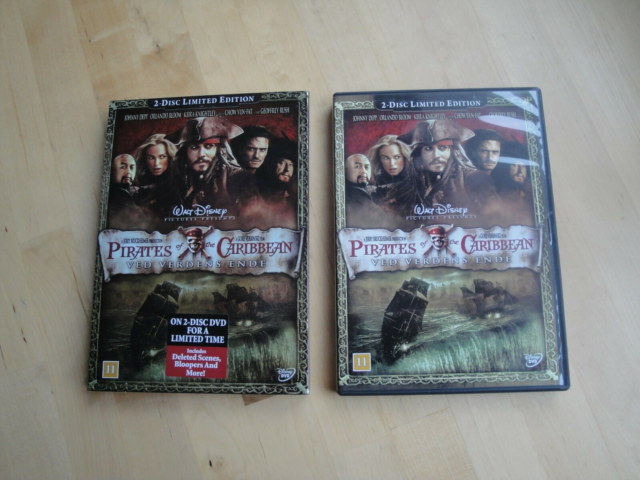 Pirates of the Caribbean, DVD, eventyr, Ved verdens…