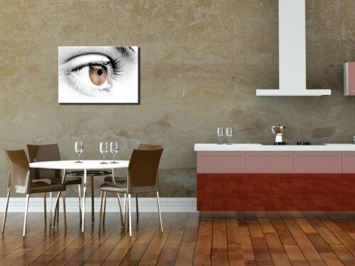 Premium Glasbild AG5705000162 DEKO 70x50cmSEXY EYE II