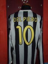 DEL PIERO JUVENTUS 2009.2010 MATCH WORN MAGLIA SHIRT JERSEY CALCIO FOOTBALL