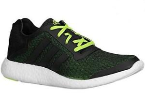 e95f6e1a51567 Image is loading Mens-ADIDAS-PUREBOOST-REVEAL-Black-Textile-Running -Trainers-