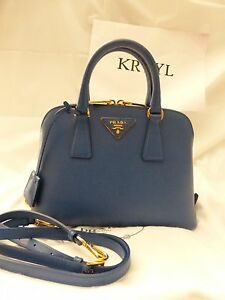 17ca4baa1686 Image is loading NEW-Prada-Saffiano-Lux-Promenade-Satchel-Shoulder-Bag-