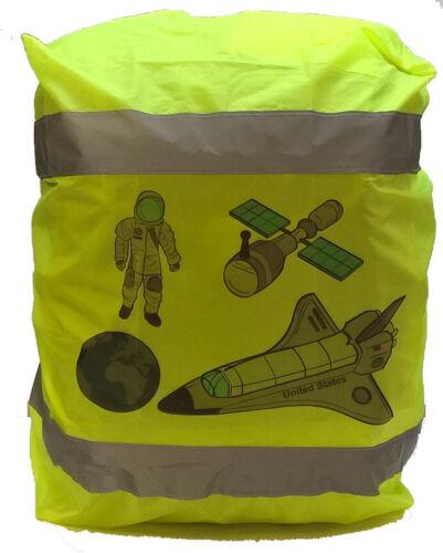 Regenhülle Regenschutz für Schulranzen Kinderrucksäcke mit Refektorstreifen