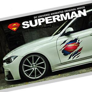 Superman Marvel Agents Of Shield Car Auto Ipad Motor Logo