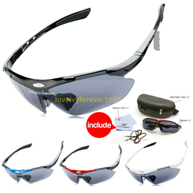 Polarized Bicycle Bike Cycling Riding outdoor  Sports Sun Glasses Goggle Eyewear