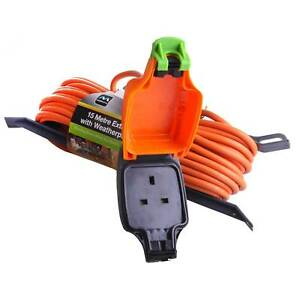 Masterplug Weatherproof Outdoor Mains Extension Cable Lead
