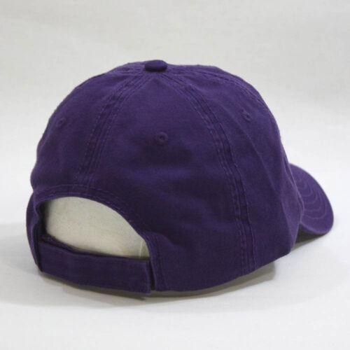Plain Classic Washed Cotton Twill Low Profile Adjustable Baseball Hat