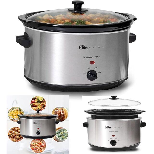 Slow Cookers Black Sous Vide Precision Bluetooth Removable Kitchen Appliances US