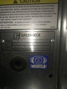 Greenheck Side Wall Fan Sbe 2l30 7 X Ebay
