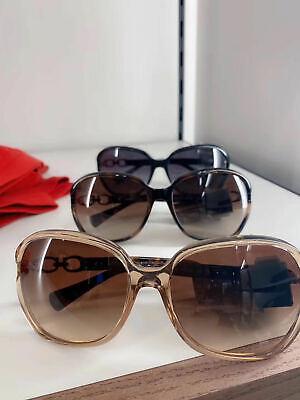 Model #L948 NEW Black Coach Womens Kissing C Sunglasses